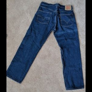 Men's Levi 501Xx Button Fly Jeans